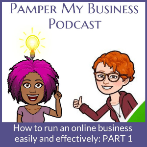 Pamper My Business Podcast