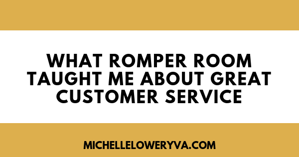What Romper Room Taught Me About Great Cutomer Service