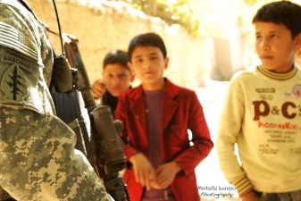 I love how the young boys are staring at us Soldiers. I can only hope that we gave them some good memories and planted seeds of partnership with them.
