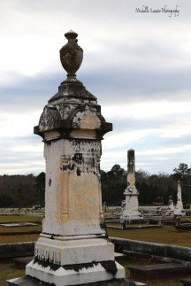Given the age of cemetery, it was very well kept.