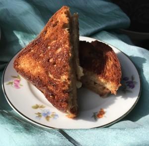 Gluten-free grilled cheese sandwich