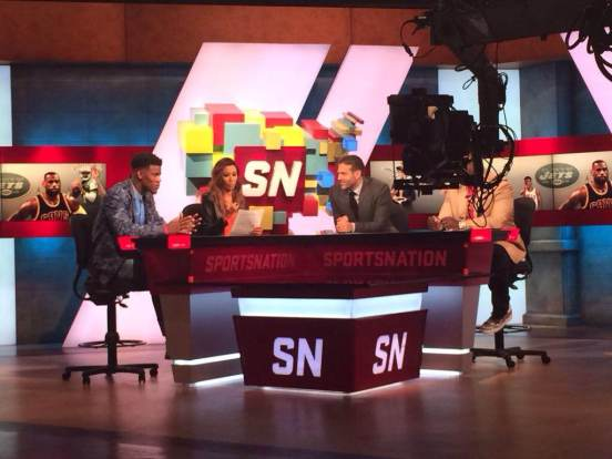 BTS On-Set at SportsNation