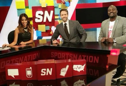 Guest Hosting SportsNation on ESPN