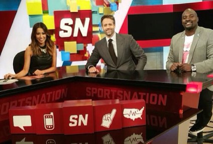 Guest Hosting SportsNation on ESPN