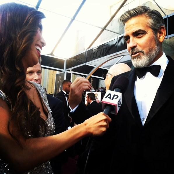 George Clooney - AP Live