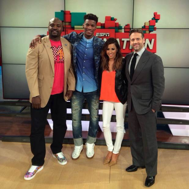Jimmy Butler joins us on SN!