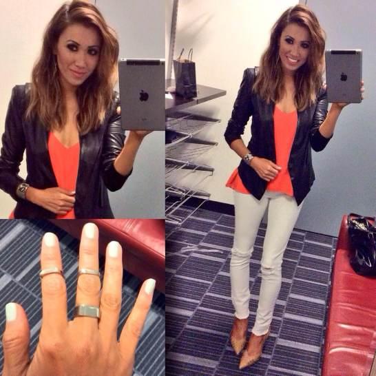 #MMSteez - Jacket: Gracia | Top: Bella Dahl | Denim: DL 1961 | Shoes: Dolce Vita | Jewelry: Nissa | Makeup: Regan Smith |Nails: Caption Polish 'Do I look like an ATM?' | Hair: The Bodester
