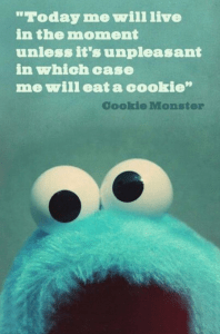 me eat cookies