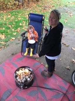 Little campfire morning