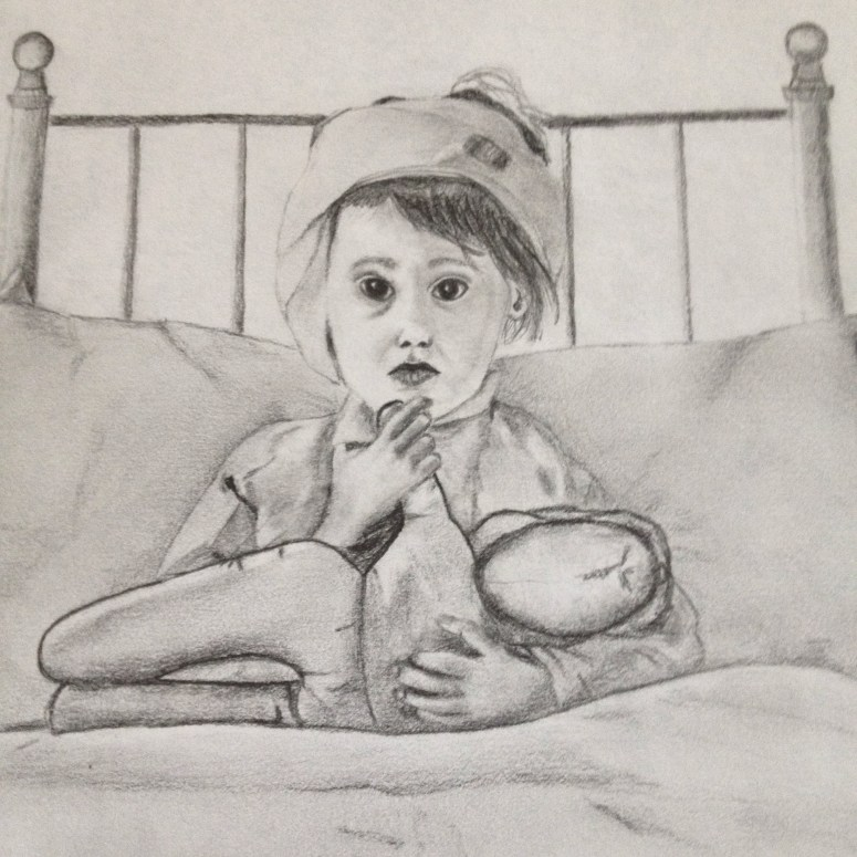 One of my early graphite works where i began to explore shading in new ways. It still has an influence on my work today.