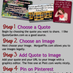 How to Create Pinnable Image Quotes