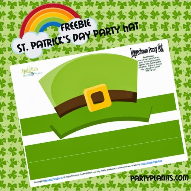 Free St. Patrick's Day Hat