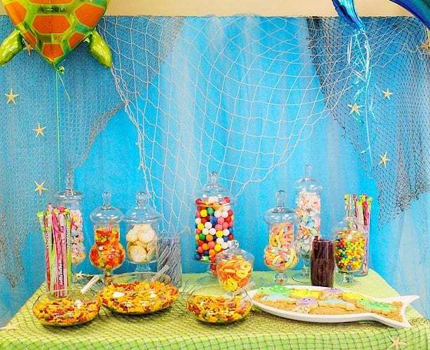 An Under the Sea Party for Logan & Landon