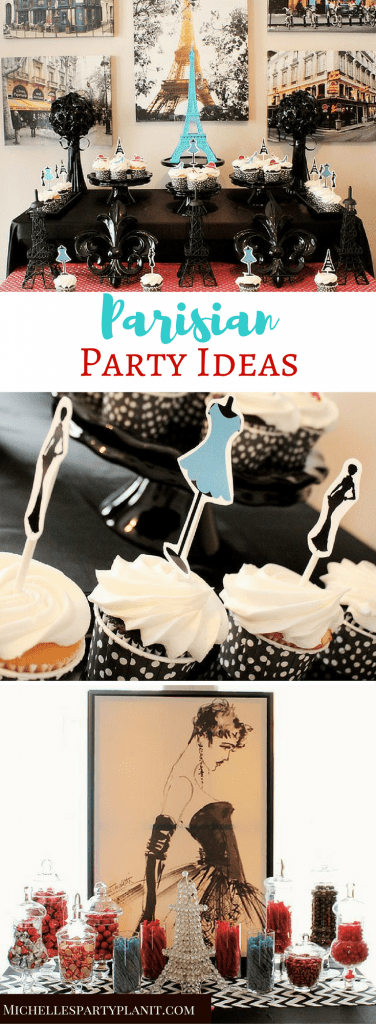 Parisian Party Ideas