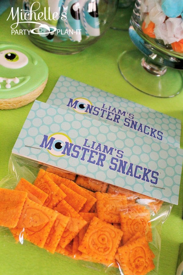 Monsters University Snacks