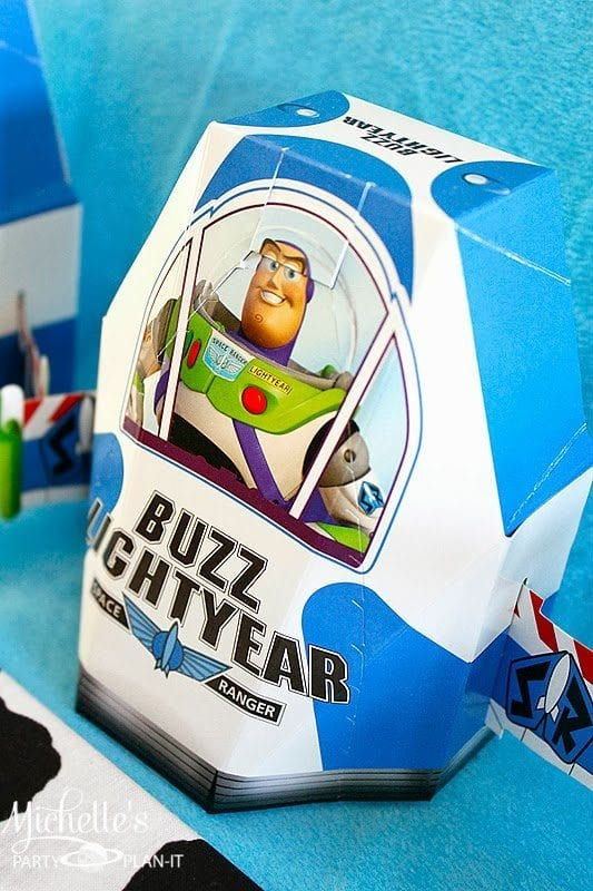 Buzz Lightyear Party Favor Boxes