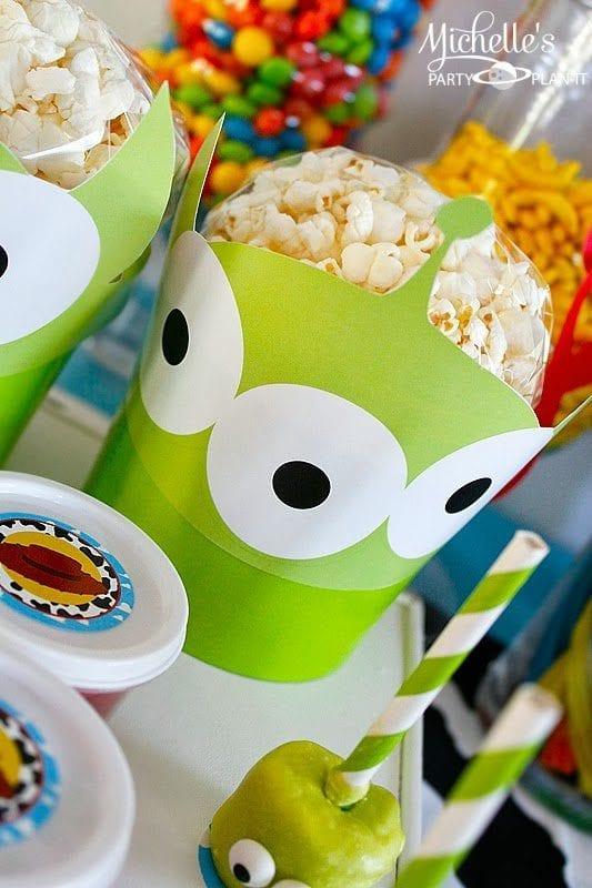 Alien Popcorn Buckets