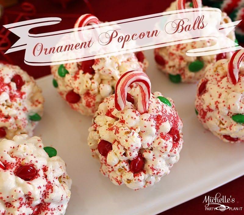 Fun Ornament Popcorn Balls