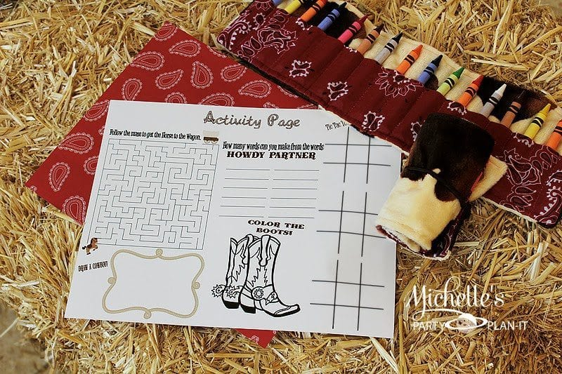 Yippee-ki-yay! Free Activity Page
