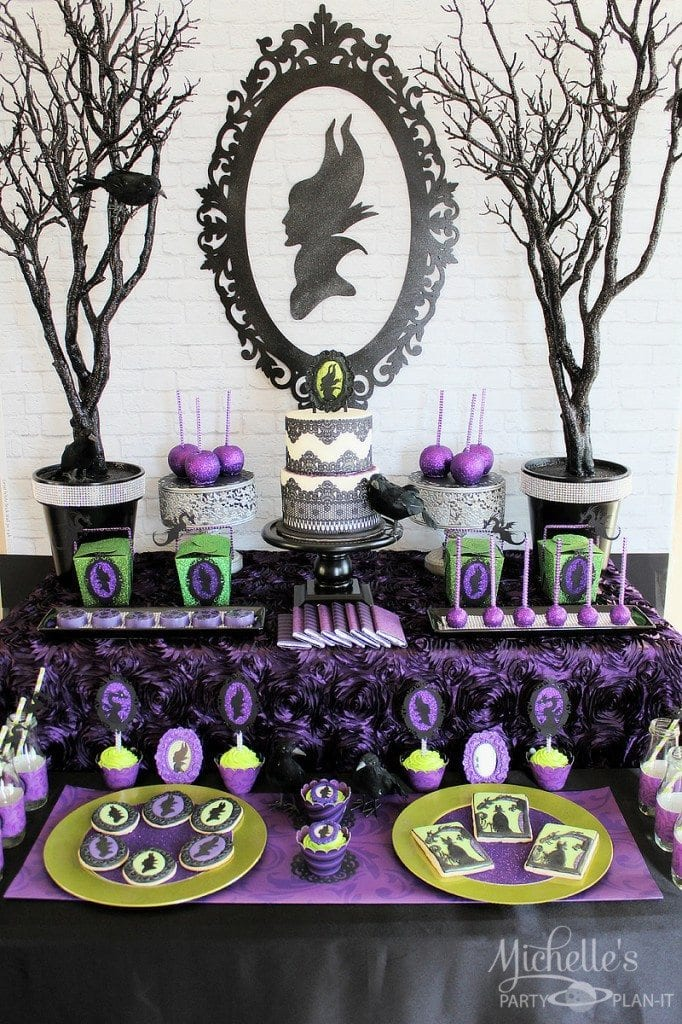 Maleficent Themed Birthday Party Ideas