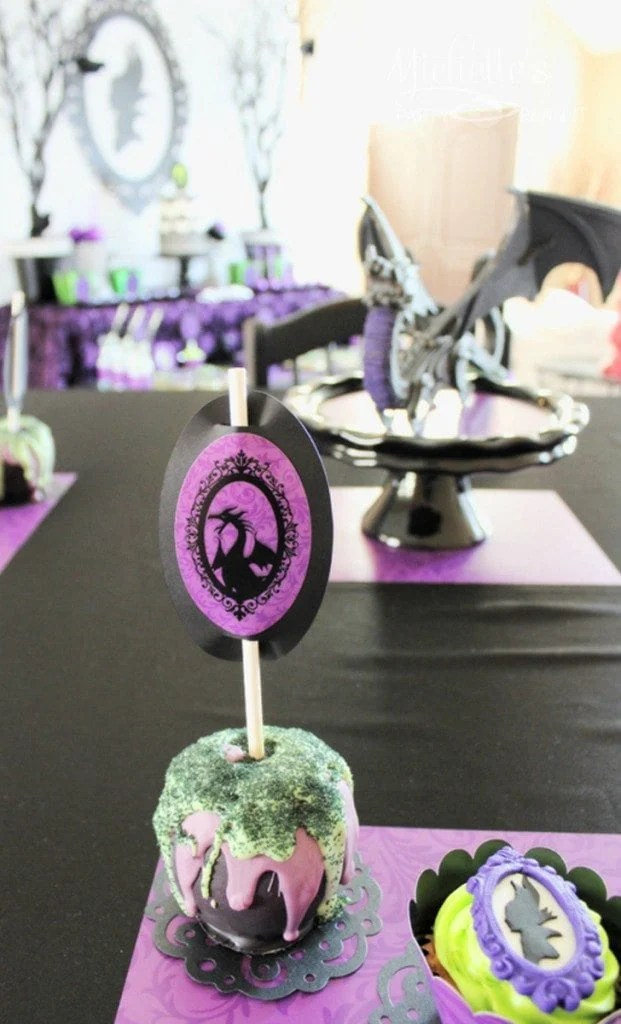 Maleficent Themed Birthday Party Ideas Diy Supplies