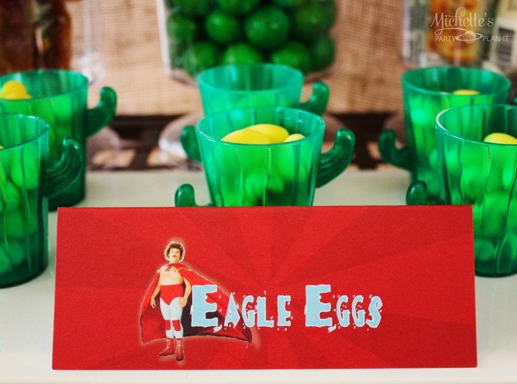 Nacho Libre Party - Eagle Eggs