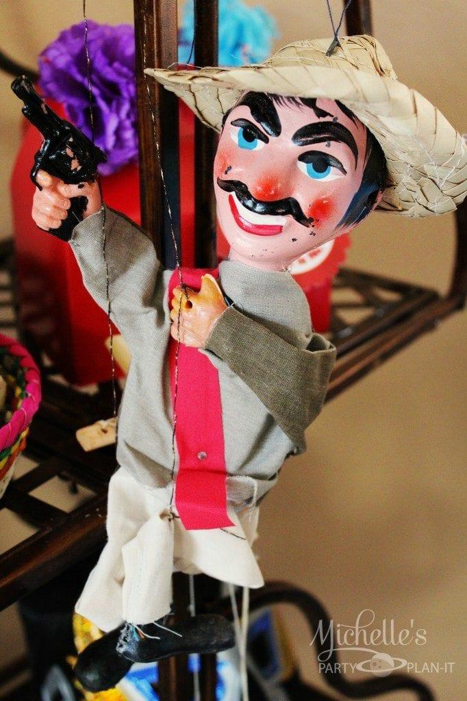 Nacho Libre Party Decor - puppets