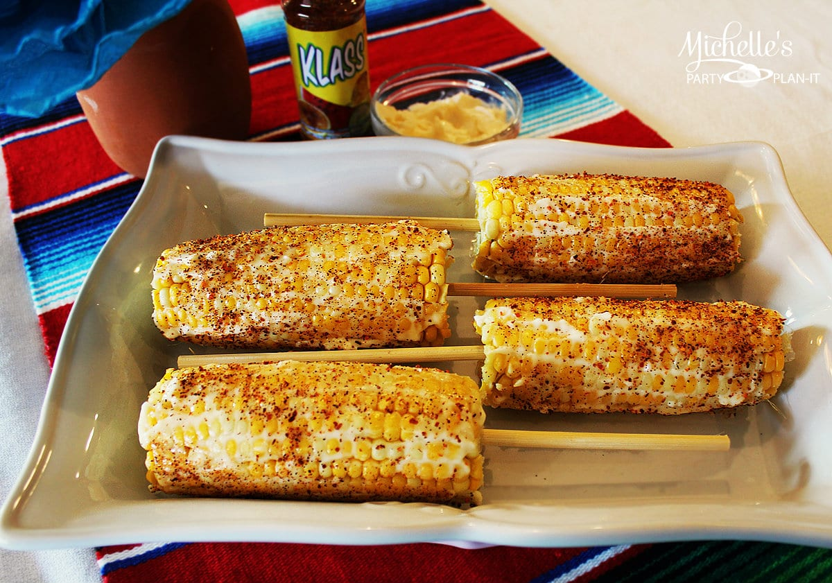 10 Minute Mexican Style Corn by Michelle Stewart