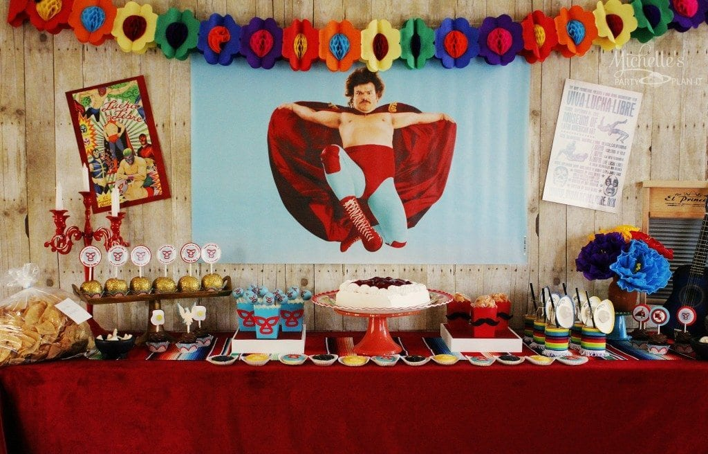 Nacho Libre Party Table and Display