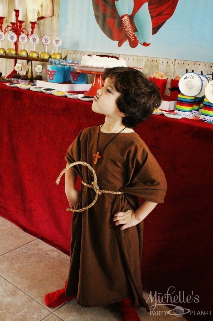 Nacho Libre Party - Monk Costume
