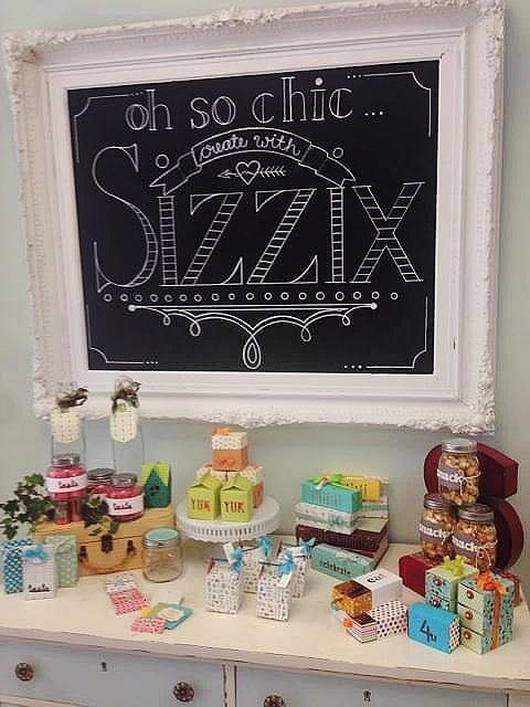 Sizzix Blog Hop