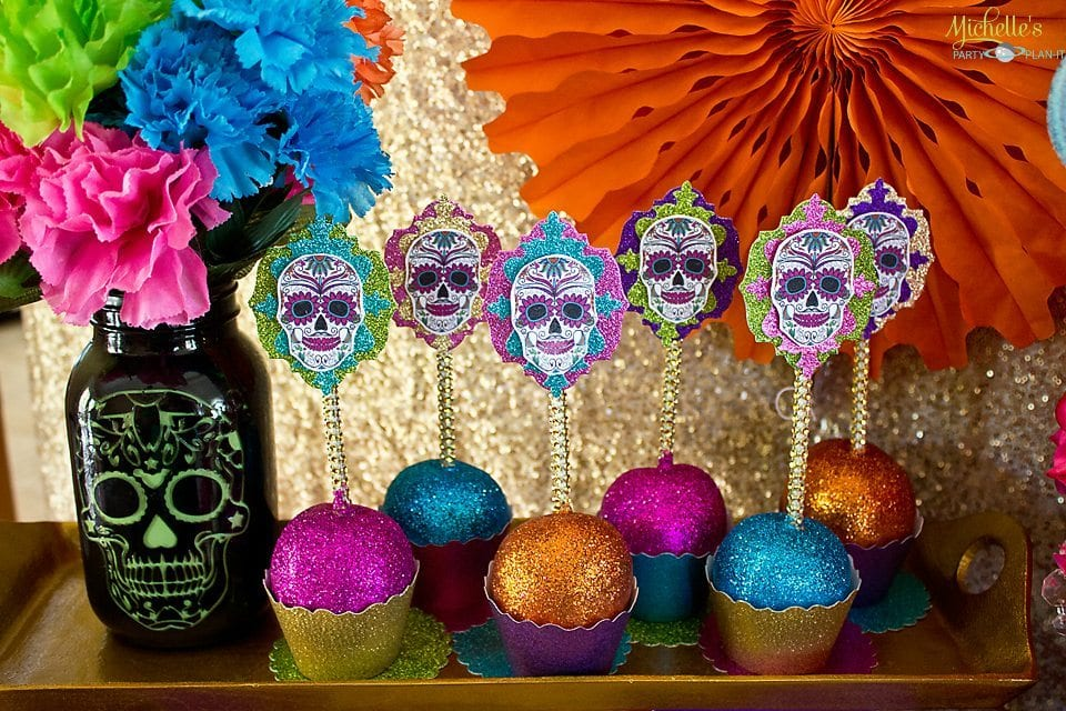 Day of the Dead Party - Candy Apples