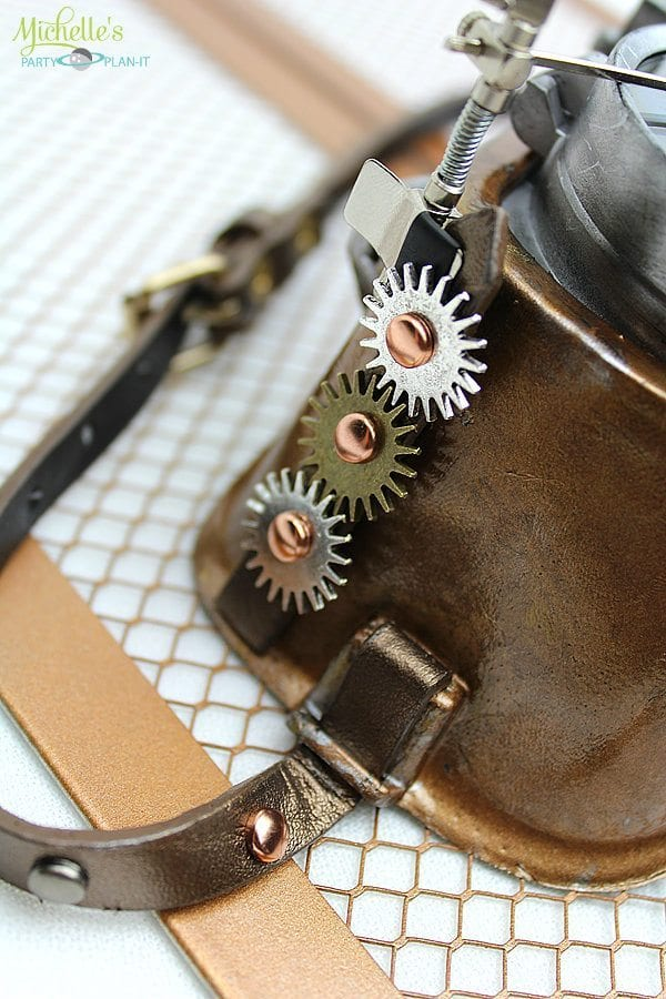 Steampunk DIY - How to Make Steampunk Goggles (With Mason ...