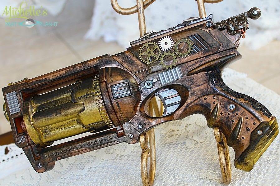 Diy Steampunk Gun Costume Prop Michelle S Party Plan It