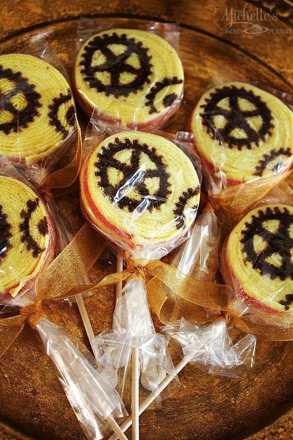 Steampunk Candy Kabobs