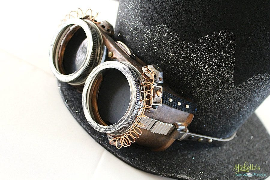DIY Steampunk Goggles - Michelle's Party Plan-It