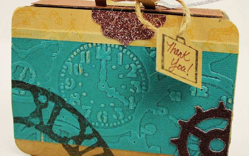 Sizzix Tutorial | DIY Party Favor – Traveling Through Time