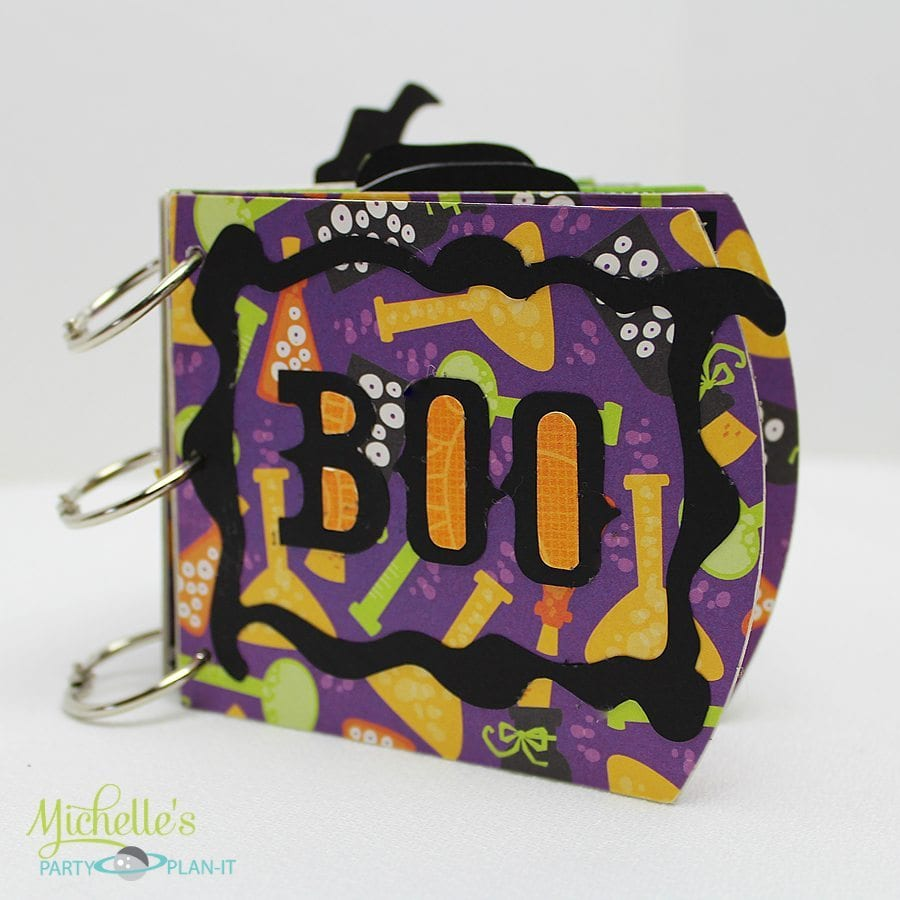 Sizzix Tutorial | Halloween Mummy and Me Photo Album PLUS Giveaway!