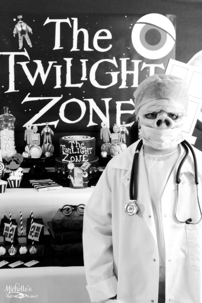 Twilight Zone costume