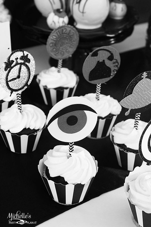 twilight zone cupcakes