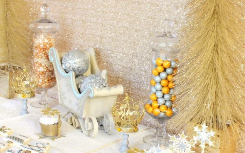 Gold & Silver Christmas Party Ideas