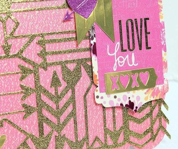 Shot Through The Heart Valentine's Day Card | Sizzix Inspiration