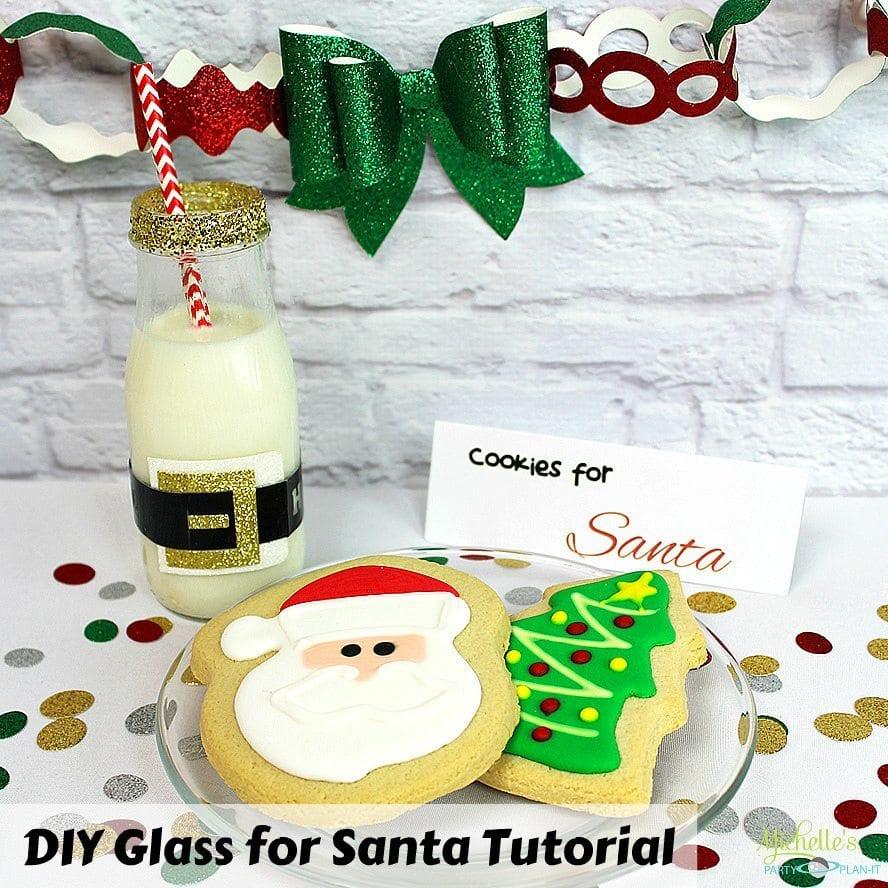 Santas Milk and Cookies