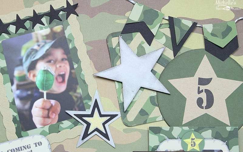 Army layout top