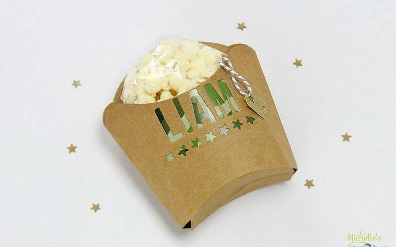 Army popcorn boxes