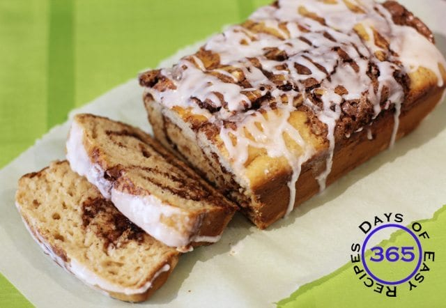 Cinnamon Swirl Loaf Recipe