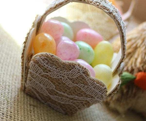 Easter candy basket