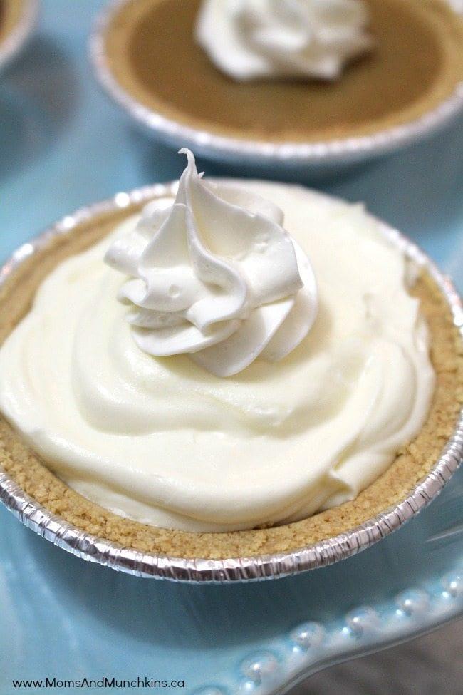 Easy Cream Pie Tart Recipe