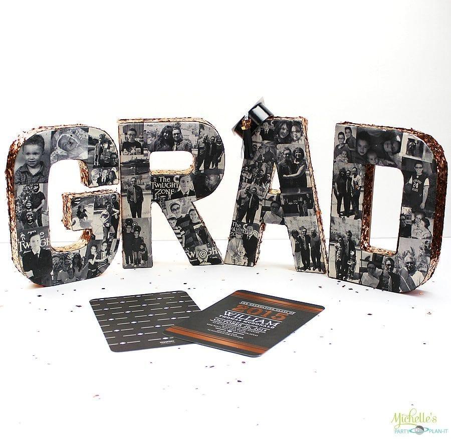DIY Graduation Photo Collage