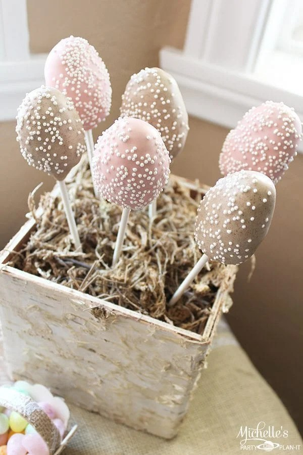 DIY Rustic Chic Easter Party Ideas